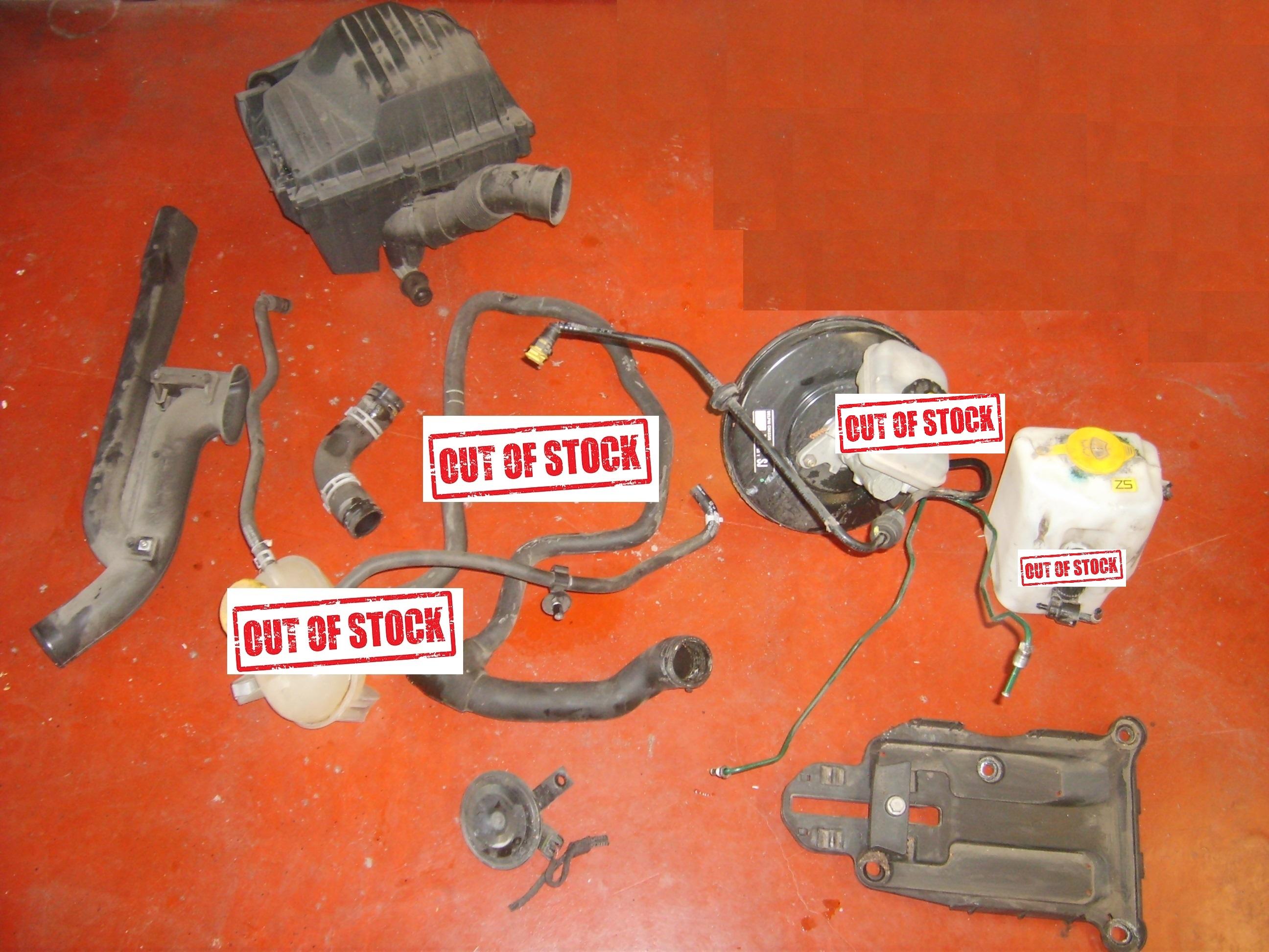 Opel Corsa C onderdelen