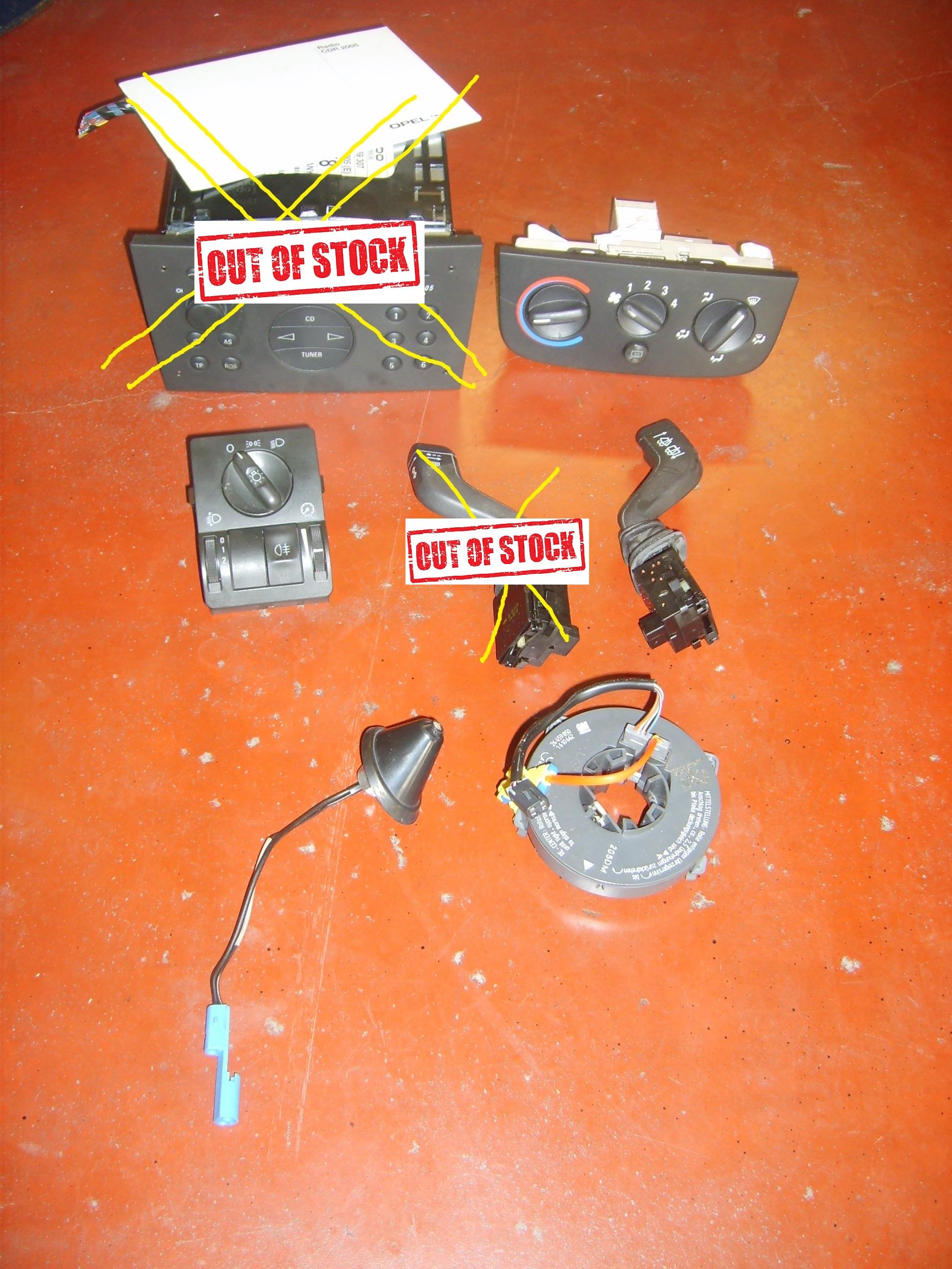 Opel Corsa C occasie onderdelen