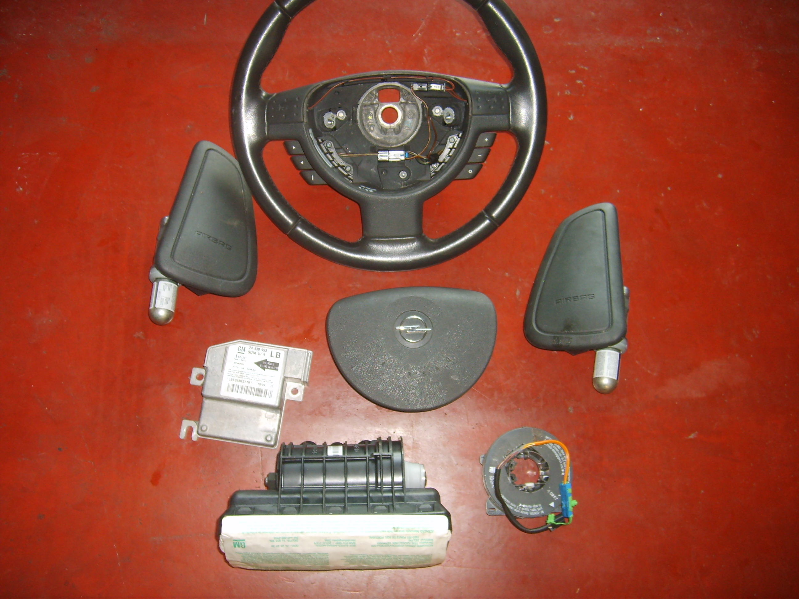 200€ Opel Corsa C airbag set