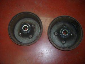 opel-corsa-c-z10xep-trommels-achteraan-rem-met-rollementen-lagers-erin-nog-geen-boord-gesleten