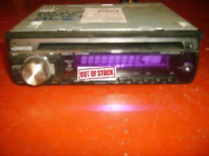 autoradio radio kenwood KDC w3044a werkt allemaal perfect zonder sleede zonder omranding met bekabeling.