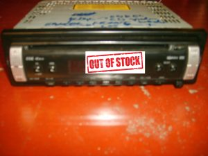 autoradio radio pioneer eeq 45x x4 DEH 1800R enkel tuner defect cd is ok zonder slede me bekabeling.