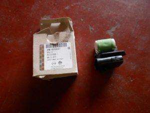 55704057 weerstand opel corsa d met airco koelventilator motor