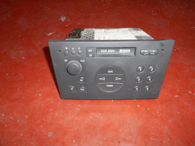 50€ Opel Car2004 radio cassette. RETRO STUF!!