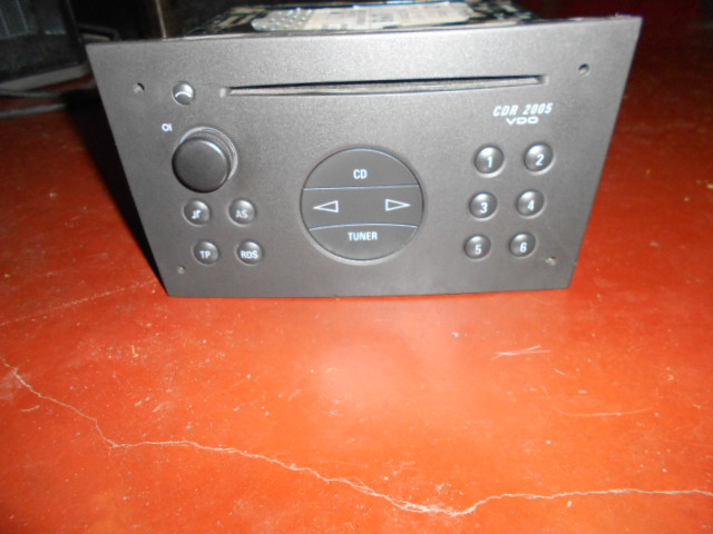 69.95: Opel Radio met slede CDR2005 incl code